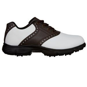 BCG Men's Classic Golf Cleats Oxford Shoes 8
